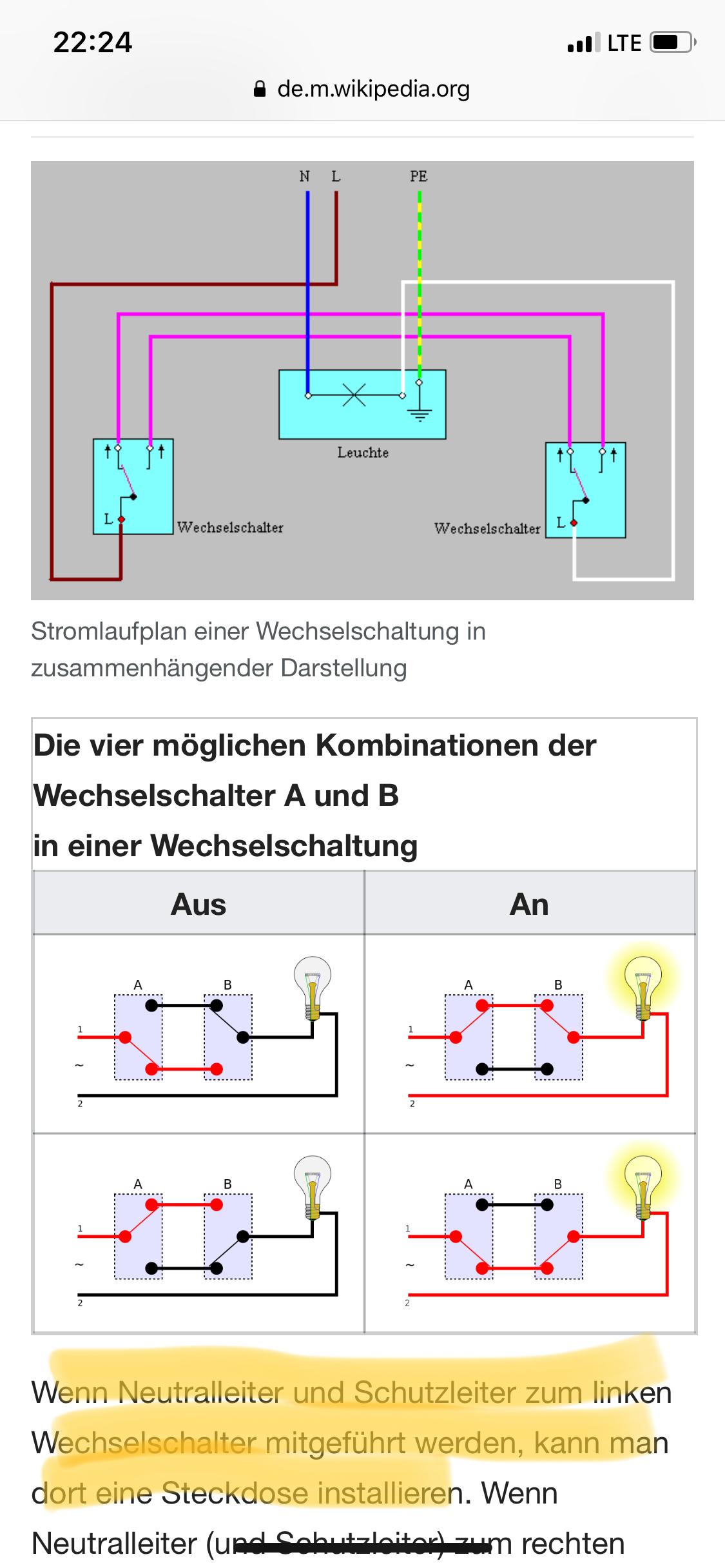 Schön Wie Man Zweiwegeschalter Verdrahtet Galerie - Der Schaltplan ...