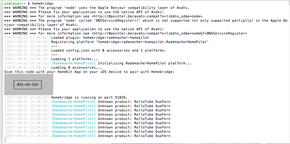 Außergewöhnliche Rademacher Homepilot - Geräte und Plugins - Apple HomeKit Forum ZI01